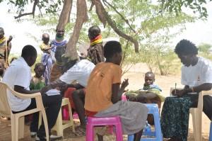 Asistencia sanitaria en el campo de refugiados de Kakuma, Kenia. /Farmamundi 2014